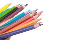 Crayon. Isolated on white background Stock Photo
