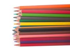 Crayon. Isolated on white background Royalty Free Stock Image