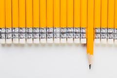 Crayon jaune Image stock