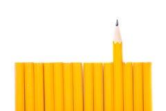 Crayon jaune Photo stock