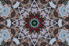 Crayon Kaleidoscope Royalty Free Stock Images