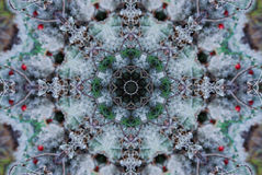 Crayon Kaleidoscope. A kaleidoscope, abstract fantasy, illustration, can be used as a background stock image