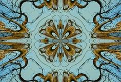 Crayon Kaleidoscope Royalty Free Stock Images