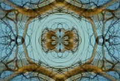 Crayon Kaleidoscope Stock Images