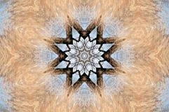 Crayon Kaleidoscope Stock Photo
