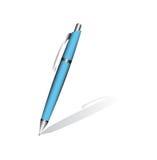 Crayon lecteur bleu Photographie stock libre de droits