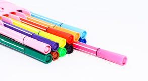 Crayon lecteur coloré photo stock