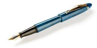 Crayon lecteur d'écriture de fontaine image libre de droits