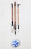 Crayon lecteur de balai Image libre de droits