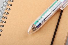 Crayon lecteur de bille mélangé Photographie stock libre de droits
