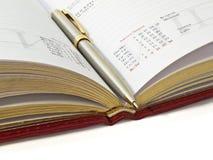 crayon lecteur de cahier Photographie stock libre de droits