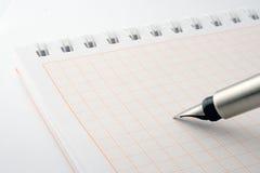 crayon lecteur de cahier Photo libre de droits