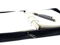crayon lecteur de cahier Images stock