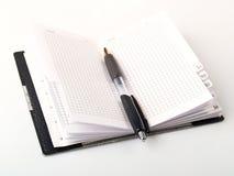 crayon lecteur de cahier Image libre de droits