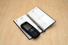 crayon lecteur de calendrier Photographie stock