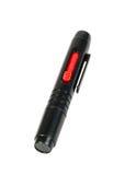 Crayon lecteur de nettoyage de lentille Photographie stock