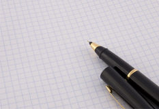 crayon lecteur de papier Images stock