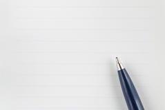 crayon lecteur de papier Image libre de droits