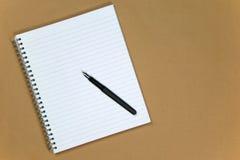 crayon lecteur de papier de cahier de fond Photo stock
