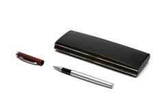 Crayon lecteur et boîte noire Photos libres de droits