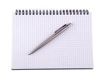 Crayon lecteur et cahier 3 Photographie stock