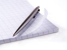 Crayon lecteur et cahier Photos libres de droits