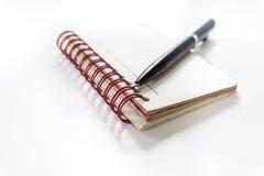 Crayon lecteur et carnet Photos libres de droits