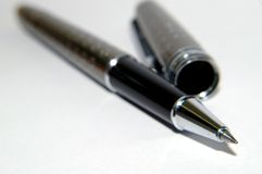 Crayon lecteur noir classique Photographie stock libre de droits