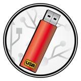Crayon lecteur rouge illustration de vecteur