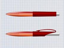 Crayon lecteur rouge Photos libres de droits