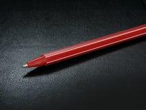 Crayon lecteur rouge Images stock