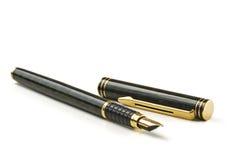 Crayon lecteur sur le blanc Photo libre de droits