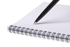 Crayon lecteur sur le copybook photos libres de droits