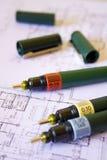 Crayon lecteur technique Photo libre de droits