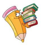 Crayon livresque Illustration Libre de Droits