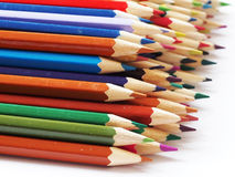 Crayon. Many colorfully can make your photo beautiful Stock Photography