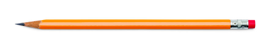 Crayon numéro deux Image libre de droits