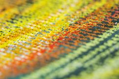 Crayon on paper texture detail Stock Photography