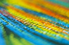 Crayon on paper texture detail Royalty Free Stock Image