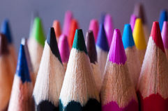Crayon pencils Royalty Free Stock Images