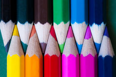 Crayon pencils Stock Photography
