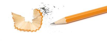 Crayon pointu Photo libre de droits