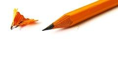 Crayon pointu photo stock