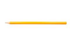 Crayon pointu en bois Photographie stock