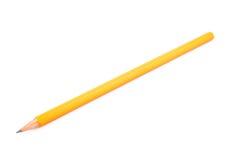 Crayon pointu en bois Photo stock
