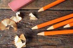 crayon proche vers le haut Images libres de droits