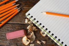 crayon proche vers le haut Image libre de droits