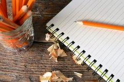 crayon proche vers le haut Photo libre de droits