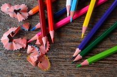 crayon proche vers le haut Photos stock