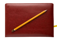 Crayon quotidien de rondin photographie stock libre de droits